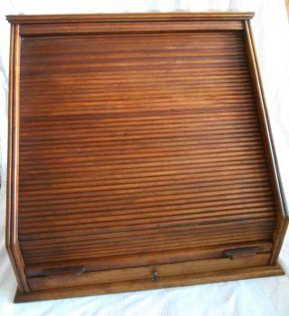 Antik Optiker Brillen Pult Holz Rolladen ProbeglÄser Optical Glasses Sammler Bild