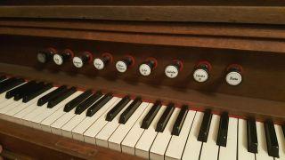 Altes Harmonium,  Fa.  Steinmeyer -,  Aber Funktionsfähig Bild