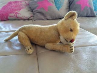 Steiff - Vermutlich Löwen - Junges,  Alt Bild