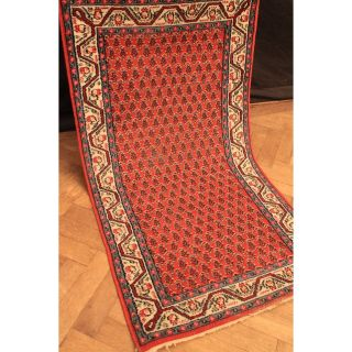 Schöner Handgeknüpfter Orient Palast Teppich Blumen Mir Carpet Rug 160x90cm Bild