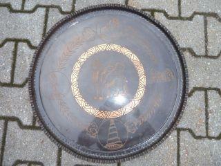 Rundes Kupferbild Bild