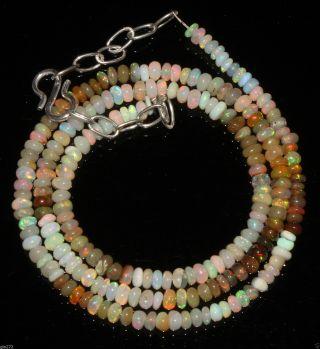 Kette Mit Äthiopien Opal Verschluss Aus 925 Silber Bild