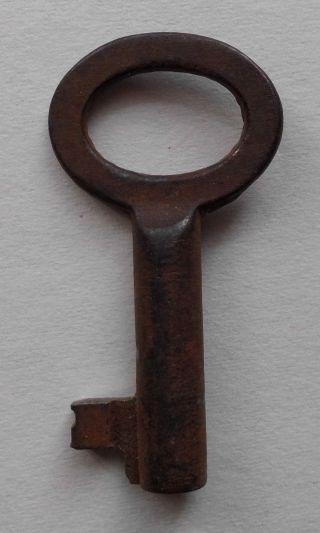 Uralt Schlüssel Schatullenschlüssel Hohlschlüssel Möbelschlüssel Kassette 4,  5 Cm Bild