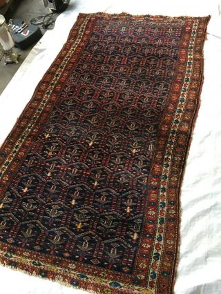 Antiker Orientteppich Perserteppich Handgeknüpft Bild