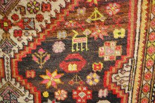 Antiker Teppich Mittelanatolein Ca: 210x130cm Antico Tppeto Antique Rug Bild