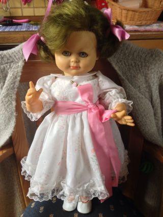 Schildkröt Puppe Mit Handgenähter Kleidung - Ca 48 Cm Groß Bild