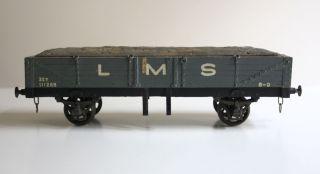 Spur 0 Güterwagagen Lms Holz Metall Leeds Model Co Lmc? O Gauge Wooden Wagon Bild