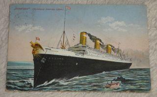 RaritÄt: Ak,  Postkarte,  Jungfernfahrt Der