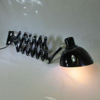 Art Deco Wandscherenlampe Bakelit Schirm Reif Dresden Werkstattlampe Wandlampe Bild