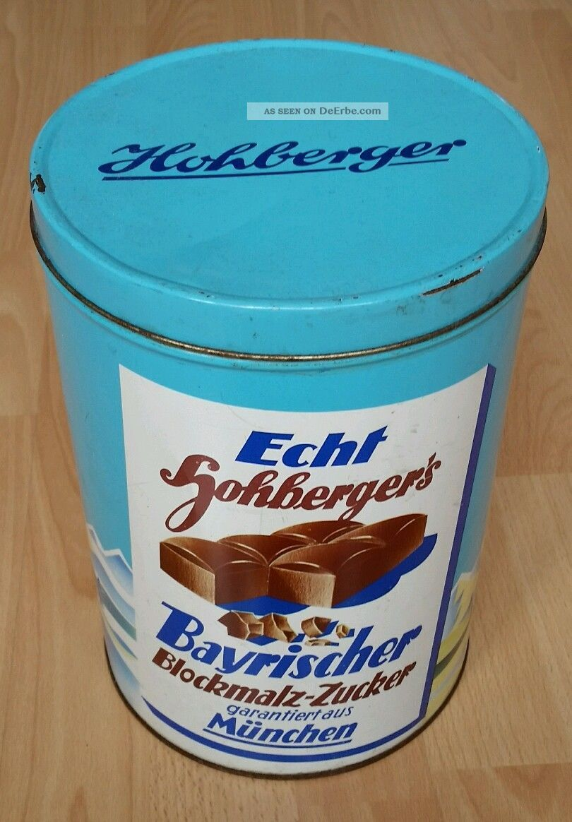 Blechdose Bayerischer Blockmalz - Zucker Kaufleute & Krämer Bild