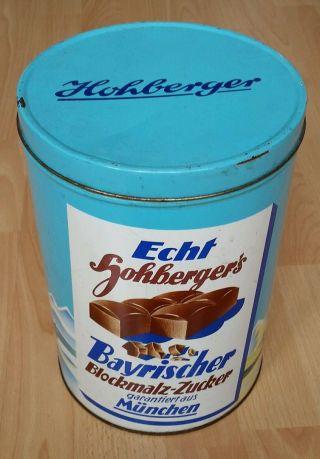Blechdose Bayerischer Blockmalz - Zucker Bild