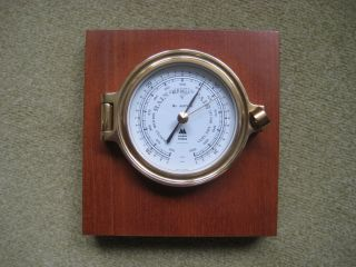 Barometer Schiff Ms Astor Kompensiert Messing Bild