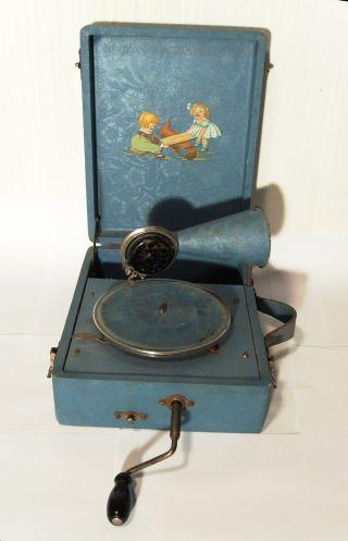 Kindergrammophon - Grammophon - Koffergrammophon - Children Gramophone  Bild