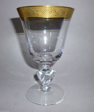 Theresienthal Weinglas Einzelglas Kristallglas Marlowe Minton Borde 13cm Höhe Bild