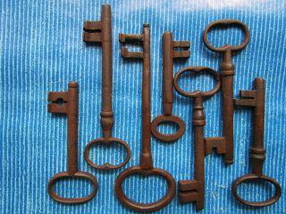 7 Antike Schlüssel Bild
