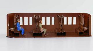 Inneneinrichtung Märklin Personenwagen Z.  B.  1751 G Spur0 Mit Figuren Bild