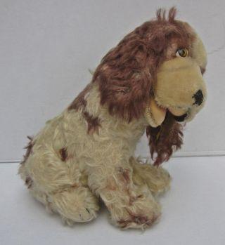 Steiff Hund Antik Unikat Ca.  27 Cm,  Mit Strohfüllung,  Mit Drehkopf,  Mit Halsband Bild
