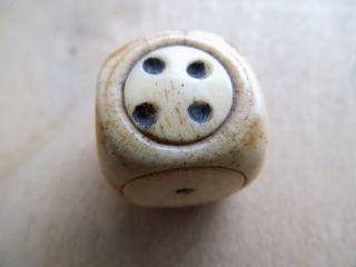 Antik Spielwürfel Würfel Knochen Bein Echt Uralt Cube Bild