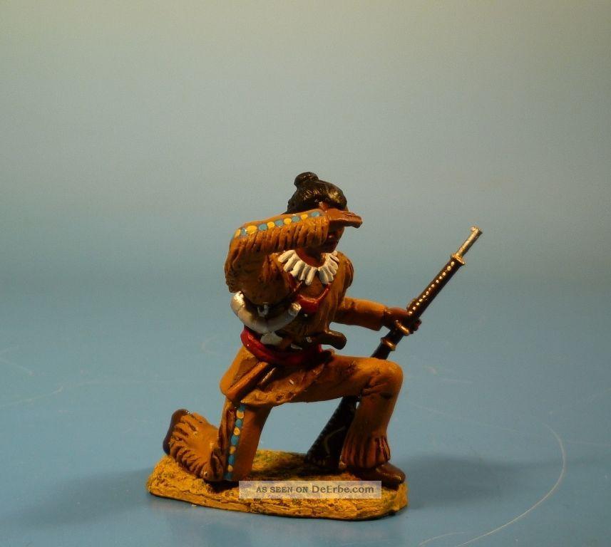 Orig.  Lineol (elastolin) Wild West – Winnetou – 7cm Serie Gefertigt nach 1945 Bild