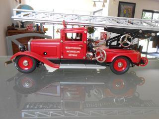 Märklin Feuerwehr Leiterwagen 1991 Bild