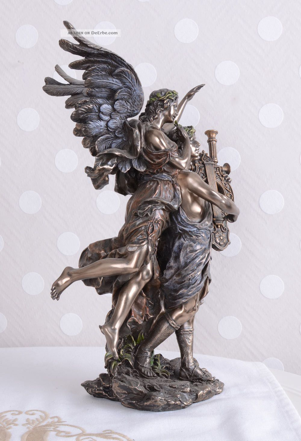 Skulptur Gott Apollon Antike Veronese Einzelstück Antike Bild
