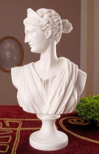 Antike FrauenbÜste Artemis BÜste GÖttin Diana Figur Bild