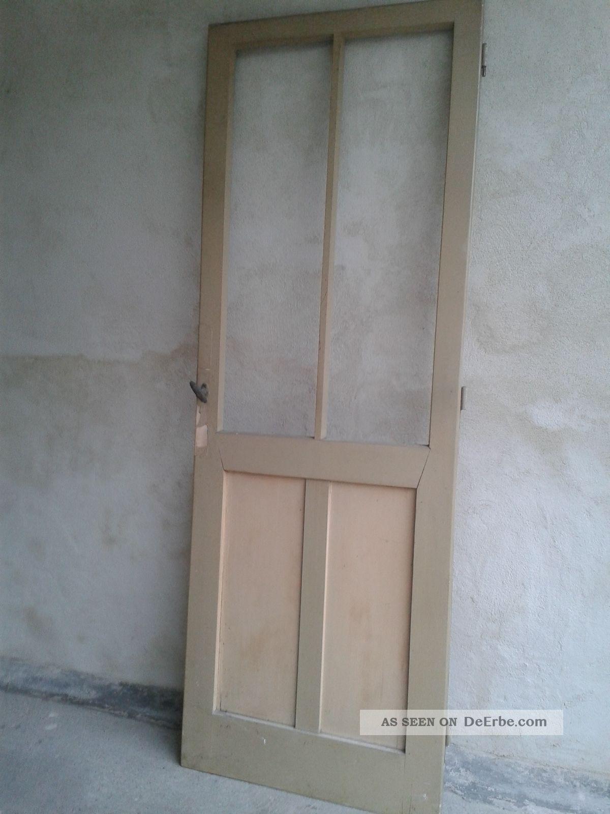 Antike Balkontur Terassentur Holz Tur Um 1920