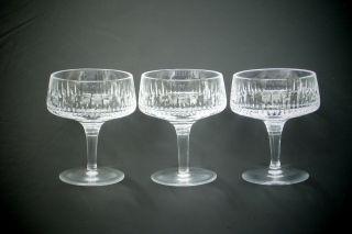 3 Kristall - Likörschalen,  Wmf Serie Carola Bild