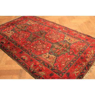 Alter Gewebt Orient Teppich Kazak Bach Tiar Carpet Tappeto Tapis 130x210cm Old Bild