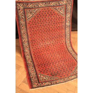 Alt Handgeknüpfter Orient Teppich Malaya Mir Old Rug Carpet Tappeto 100x160cm Bild