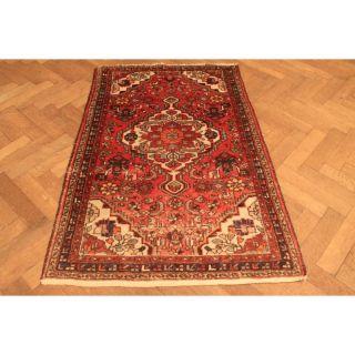 Alt Handgeknüpfter Orient Teppich Malaya Kurde Old Rug Carpet Tappeto 160x105cm Bild