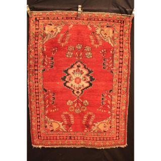 Alt Antik Handgeknüpft Orient Sa Rug Lillian Teppich Carpet Old Rug 150x110cm Bild