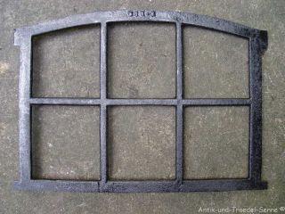 Gussfenster Schwarz Stallfenster Mit Bogen 56x42 Fen1100u Bild