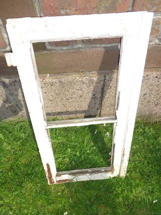 1 Altes Flügelfenster Fensterflügel Holz Sprossenfenster Antik Deko L1 Bild