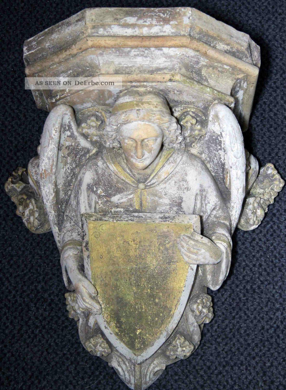 Museale,  Antike Wappenkonsole - Rarität - Antike Bild