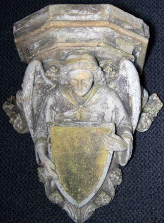 Museale,  Antike Wappenkonsole - Rarität - Bild