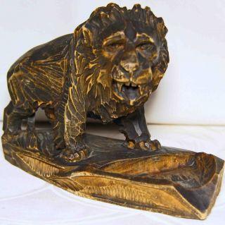 Seltene,  Antike Löwenfigur Bild