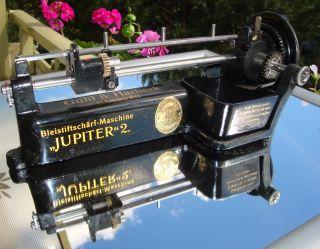 Jupiter 2 Bleistiftschärfmaschine Von Guhl & Harbeck Old German Pencil Sharpener Bild