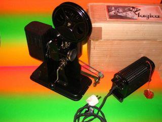 Agfa Magica Filmprojektor Ozaphan Kalle,  12 Filme Zelluloid 16mm Bild