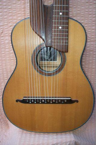 Schrammel - / Kontragitarre Aus Mittenwald Bild