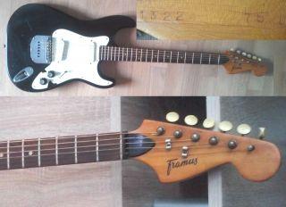 Framus E - Gitarre Strat (nummeriert) Bild