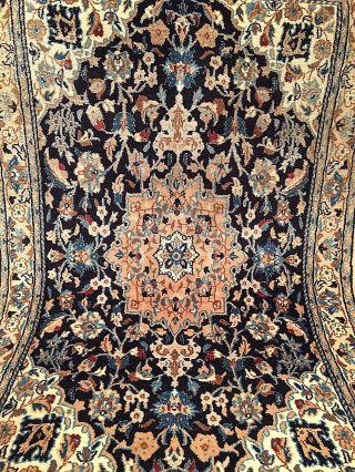 Handgeknüpft Orientteppich Schurwolle Na.  127x80 Cm Carpet Tappeto Tapis Top Bild