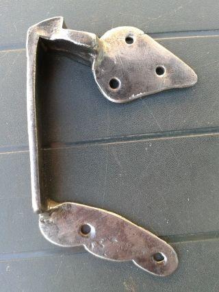 Schließfalle Schloßfalle TÜrfalle Für Kastenschloß TÜrschloß Handgeschmiedet Bild