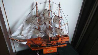 Holz Segelschiff Deko Sanfracisco 1687 Bild