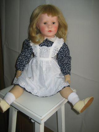 Alte Käthe Kruse Puppe,  50 Cm,  Ca.  60 Jahre Alt,  Top Bild