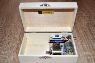 Sankyo 18er Spieluhr Mit Elektro - Motor,  Video 3 Bild