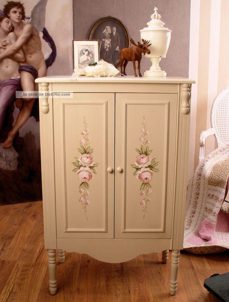 schrank landhausstil schuhschrank kleiderschrank shabby. Black Bedroom Furniture Sets. Home Design Ideas
