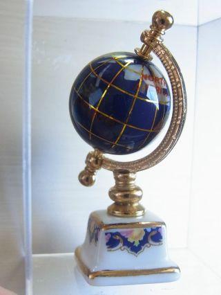 Kleiner Globus Reutter Porzellan 1:12 Puppenstube Dollhouse Globus Bild