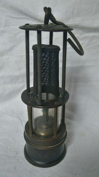 Bergbau Alte Grubenlampe Wilhelm Seippel Bochum Ölwetterlampe Um 1890 Bild