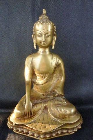 Asiatische Skultur Bronzeguß Bild